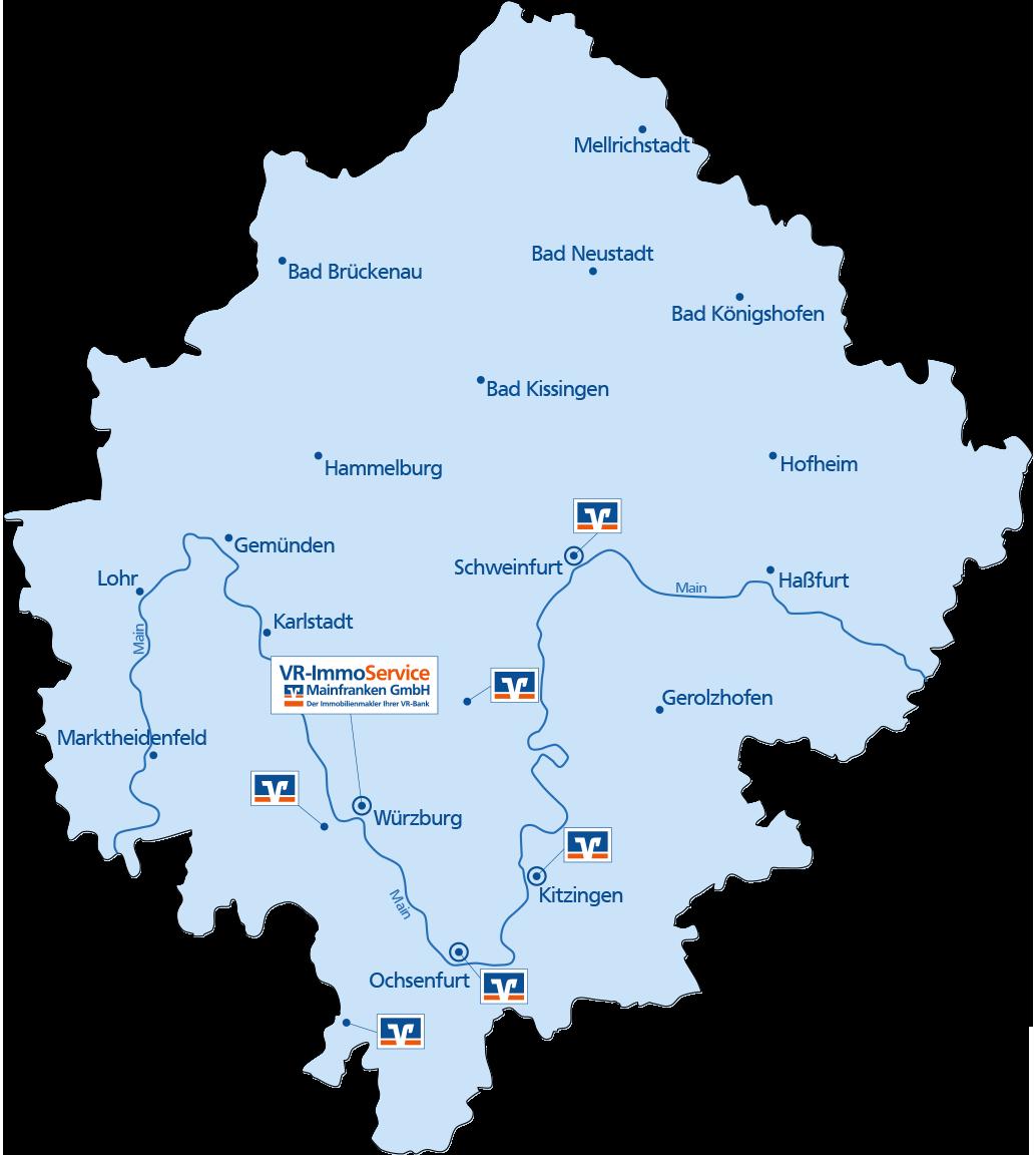 VR-ImmoService Mainfranken GmbH Kauf, Verkauf, Finanzierung von Immobilien in Mainfranken